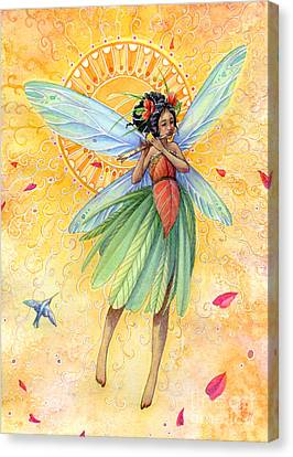 Song Of Summer Canvas Print by Sara Burrier
