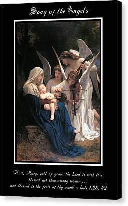 Incarnation Canvas Print - Song Of The Angels by Anita Fierro