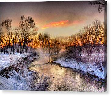 Song Of The Spirits Over The Water Canvas Print
