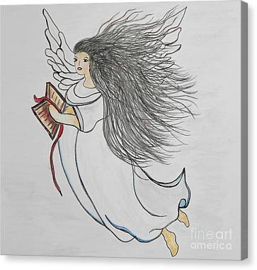 Songs Of Angels Canvas Print by Eloise Schneider