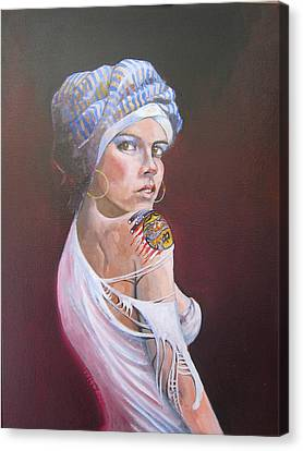 Sonia Canvas Print by Ray Agius