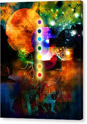 Sonic Ascension Canvas Print by Bruce Manaka