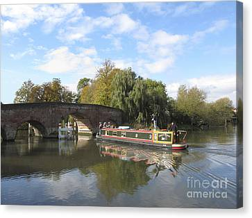 Sonning On Thames Canvas Print