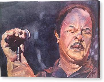 Sonny Charles Canvas Print by Kary Lee