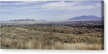 Canvas Print featuring the photograph Sonoita Arizona by Lynn Geoffroy