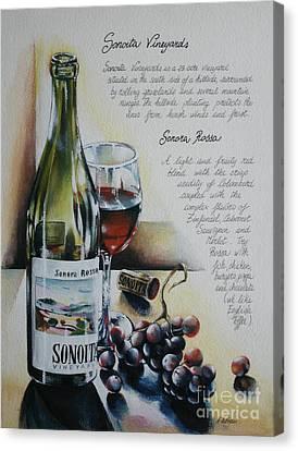 Sonoita Vineyards Canvas Print by Alessandra Andrisani