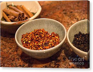 Sonoma California Pickling Spices Canvas Print
