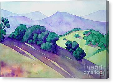 Sonoma Hills Canvas Print by Robert Hooper