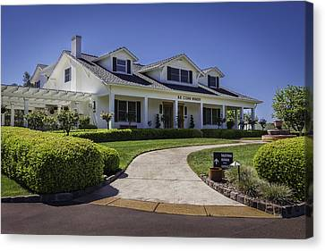 Sonoma Valley Winery Canvas Print
