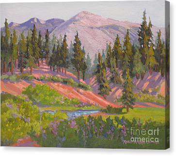 Sonora Pass Meadow Canvas Print by Rhett Regina Owings