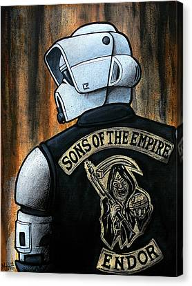 Sons Of The Empire Canvas Print by Marlon Huynh