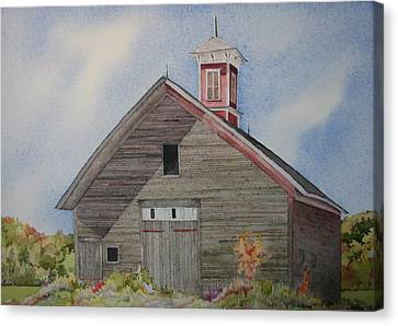 Soon To Be Forgotten Canvas Print by Mary Ellen Mueller Legault