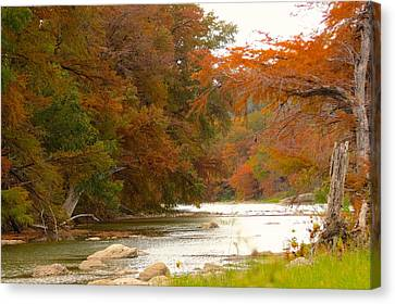 Canvas Print featuring the photograph Soothing Color by David  Norman