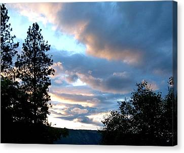 Soothing Sunset Canvas Print by Will Borden