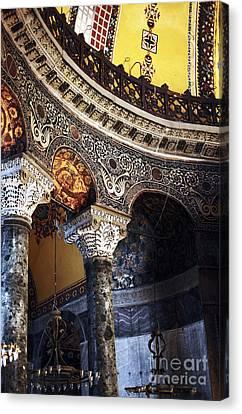 Sultanhmet Canvas Print - Sophia Balcony by John Rizzuto