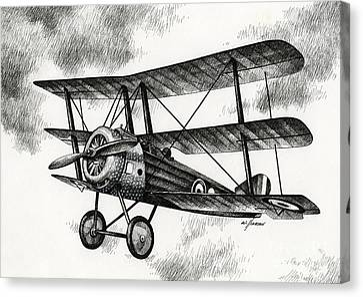Sopwith Triplane 1917 Canvas Print
