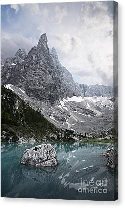 Sorapiss Lake Canvas Print
