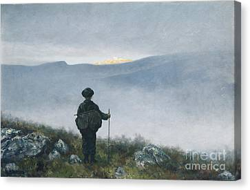 Soria Moria Canvas Print by Theodor Kittelsen