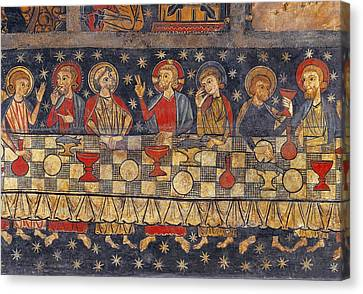 Last Supper Canvas Print - Soriguerola, Master Of Half 13th by Everett