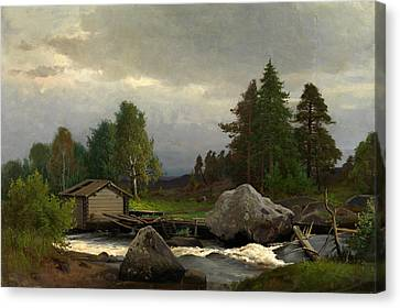 Sorsakoski Canvas Print by Fridolf Weurlander