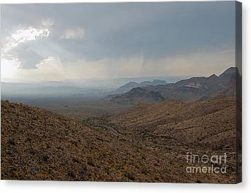 Sotol Scenic Overlook Big Bend National Park Canvas Print by Shawn O'Brien