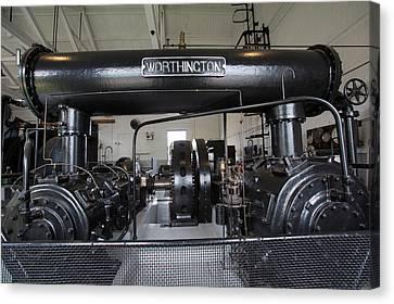 Old Mine Canvas Print - Soudan Mine Engine House by Jim West