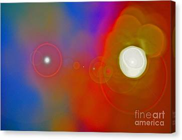 Soul Birth Series Fertilization Canvas Print