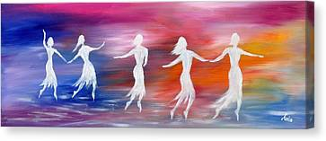 Soul Dance  Canvas Print by Marianna Mills