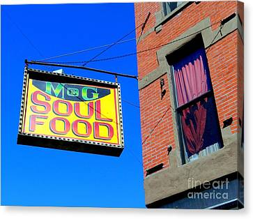 Soul Food Canvas Print