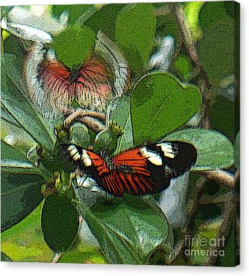 Soul From My Wings Canvas Print by Kryztina Spence