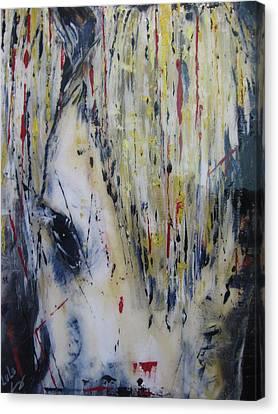 Soul Mare Canvas Print by Lucy Matta