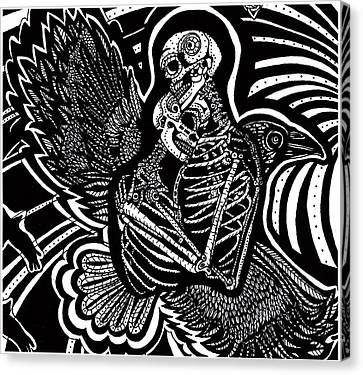 Soul Mates Canvas Print by Judy Moon