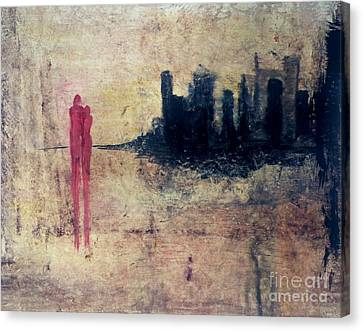 Soul Mates Reunited Canvas Print by Michael Stanley