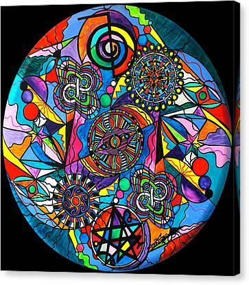 Sacred Canvas Print - Soul Retrieval by Teal Eye  Print Store