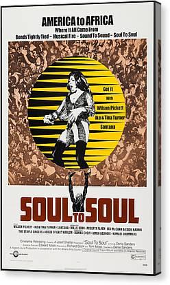 Soul To Soul, Us Poster, Tina Turner Canvas Print
