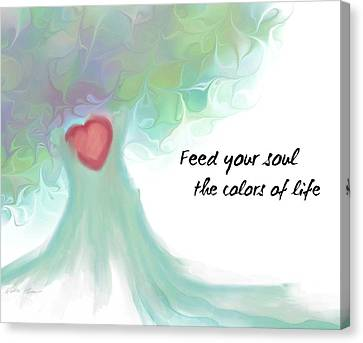 Soul Tree  Canvas Print