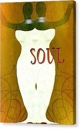 Soulchic Canvas Print by Romaine Head