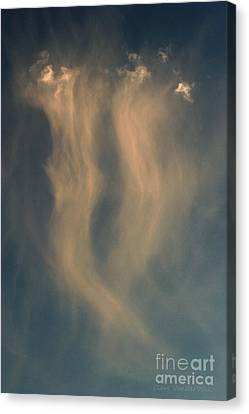 Souls En Route Canvas Print