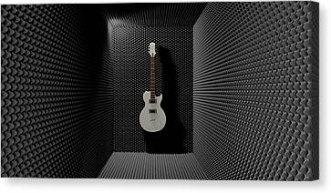 Sound Discrimination Canvas Print by Allan Swart