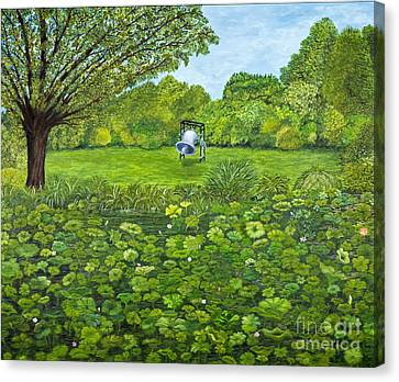 Sound Of Nature By Kevin Davis Canvas Print by Sheldon Kralstein