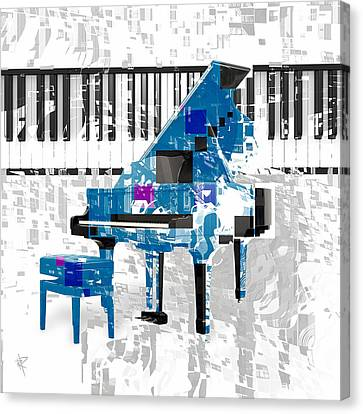 Classical Music Canvas Print - Sounding Off by Russell Pierce