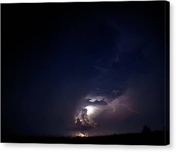 Sounds Of Thunder  Canvas Print by Tom Druin