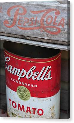 Soup And Soda Canvas Print