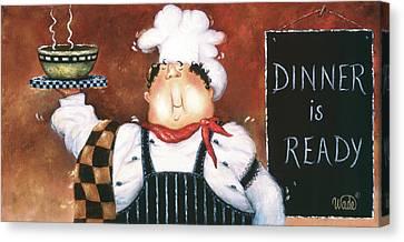 Soup Chef Canvas Print