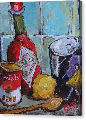 Soup Kitchen Canvas Print by Carole Foret