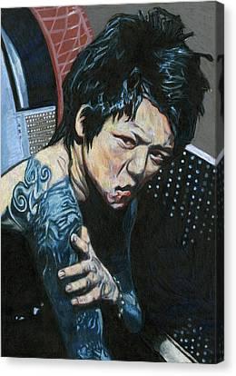 Sour Kyo Canvas Print by Katie Gotch