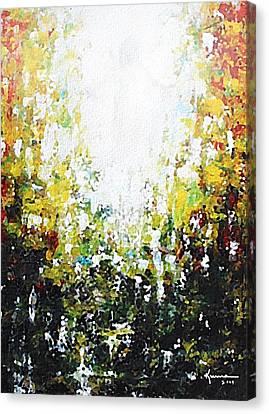 Source Of Light Canvas Print