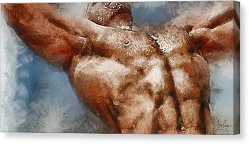 Source Of Strength Canvas Print
