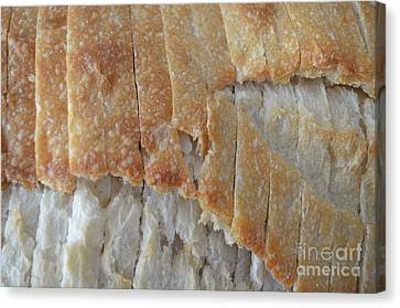 Sourdough Crust Canvas Print by Mary Deal