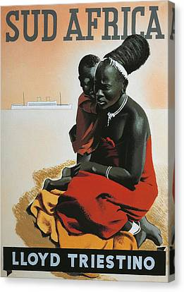 Indigenous Canvas Print - South Africa  by Anonymous